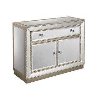 Willa Arlo Interiors Primm 2 Door 1 Drawer Cabinet