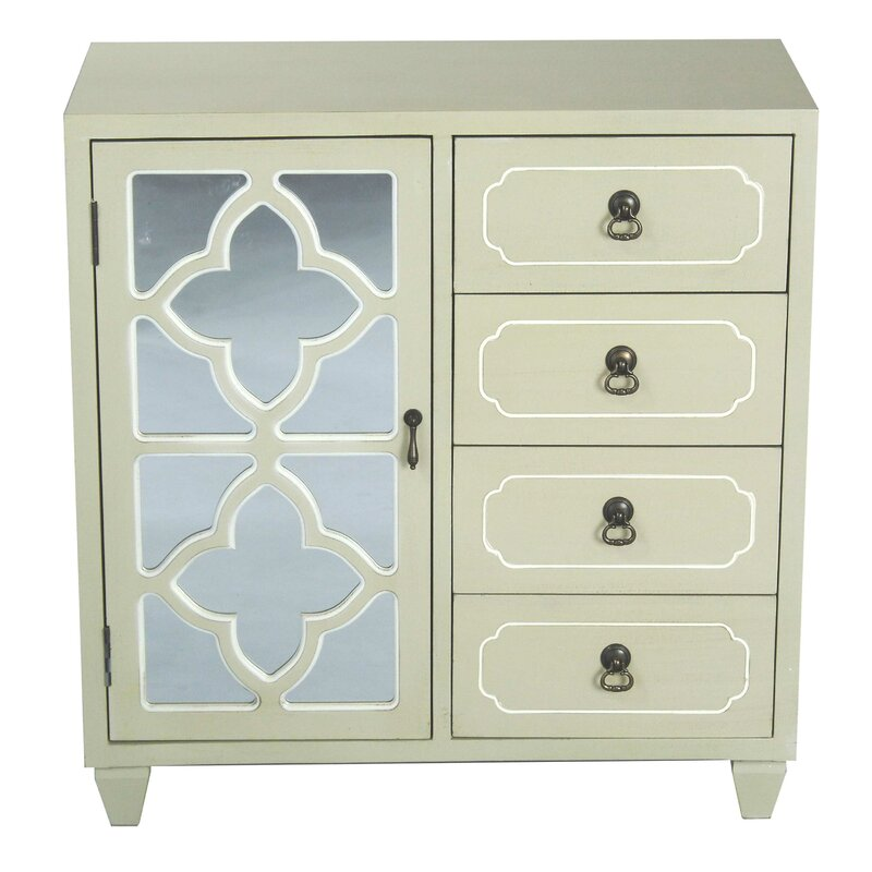 Liskeard 1 Door 4 Drawer Server