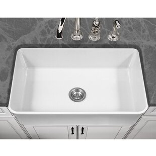 Platus 33 L x 20 W Apron Kitchen Sink