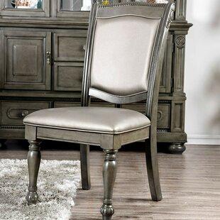 Astoria Grand Silva Upholstered Dining Chair (Set of 2)