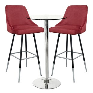 Fazeley Dining Set With 2 Chairs By Ebern Designs