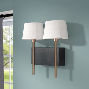 Brinsley 2-Light Armed Sconce by Willa Arlo Interiors