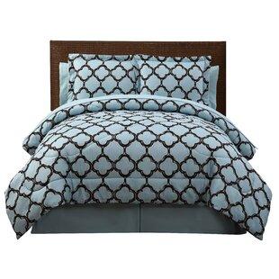 Willa Arlo Interiors Kamdyn 6 Piece Reversible Comforter Set