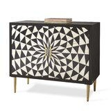 Edite 2 Door Accent Cabinet by Everly Quinn