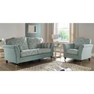 Galaxy 2 Piece Sofa Set By Winchester Leather Ltd