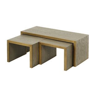Lincoln 3 Piece Coffee Table Set By Mindy Brownes