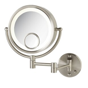 Buying Halo Wall Mount Lighted Mirror By Jerdon