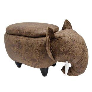 Overlock Elephant Storage Ottoman
