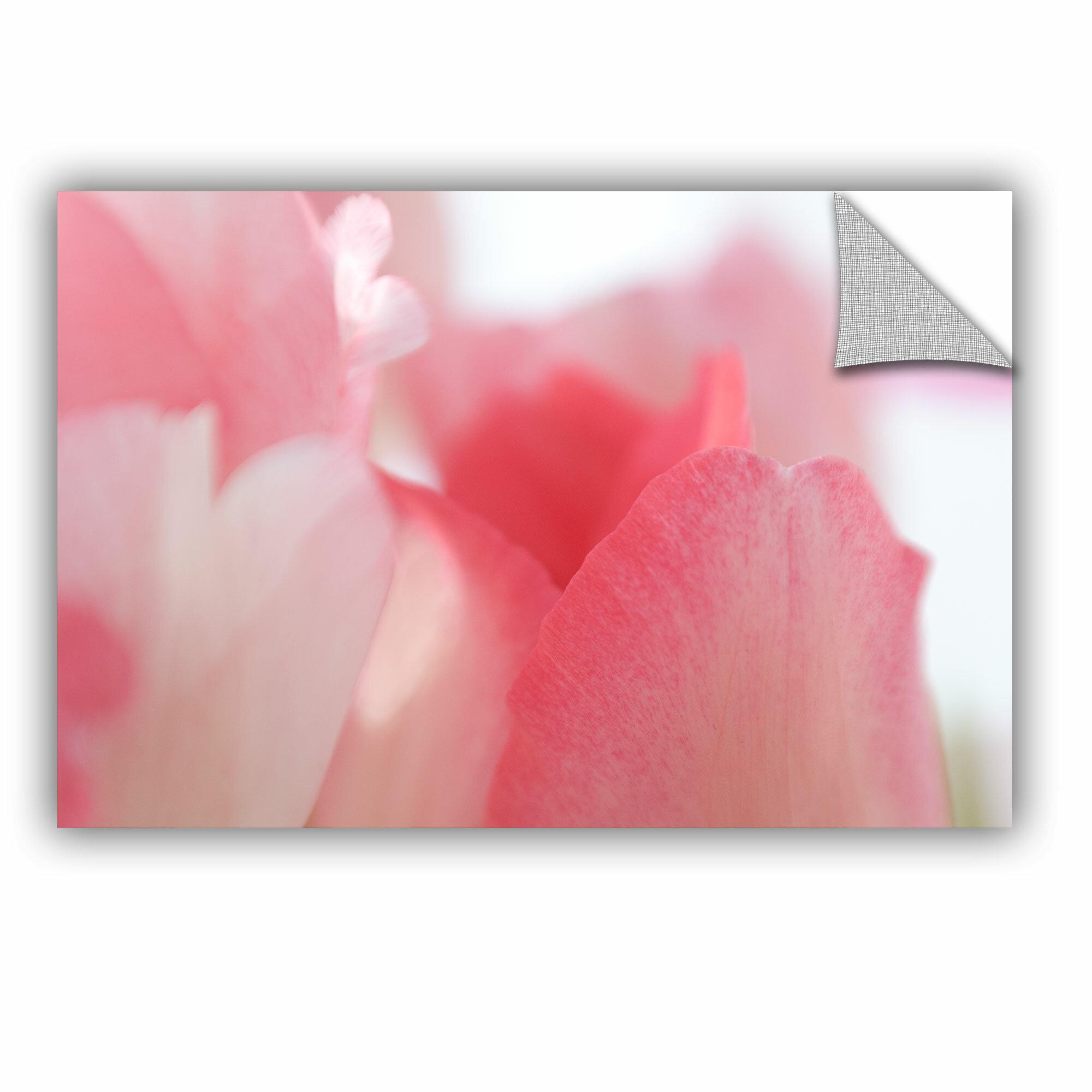 Artwall Judy Stalus Pink Tulip Petals Removable Wall Decal Wayfair