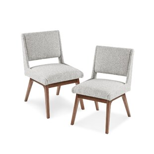 Shopping for William Upholstered Dining Chair (Set of 2) by Langley Street Reviews (2019) & Buyer's Guide