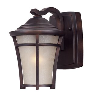 Great Price Livingston 1-Light Outdoor Wall Lantern By Darby Home Co