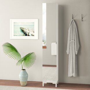 33.5 X 195.5cm Tall Bathroom Cabinet By Symple Stuff