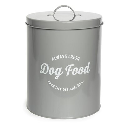 Parvin Tin 140 Oz. Food Storage Container Tucker Murphy Pet