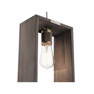 Dee 1-Light Square/Rectangle P..