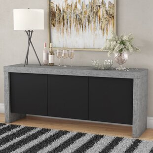 Juniper 3 Door Sideboard Wade Logan
