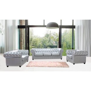 Chestfield Configurable Living Room Set by Fine Mod Imports
