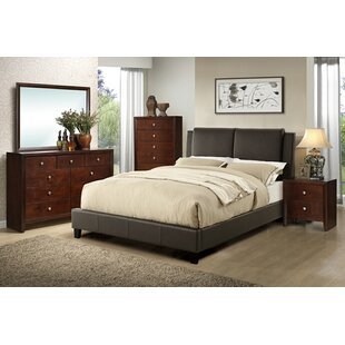Seth Queen Upholstered Platform Configurable Bedroom Set by Charlton Home #2