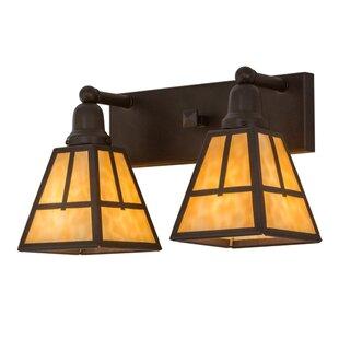 Meyda Tiffany T Mission 2-Light Vanity Light