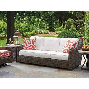 Cypress Point Ocean Terrace Patio Sofa with Cushions