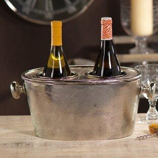 Seguso 2 Bottle Tabletop Wine Rack by Zodax