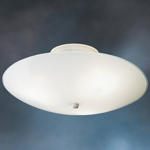Stevens Round 3-Light Flush Mount (Set of..
