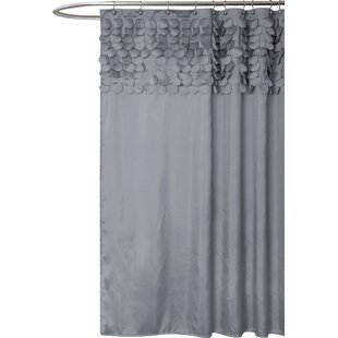 Gray Silver Shower Curtains You Ll Love Wayfair