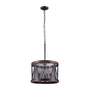 CWI Lighting 3-Light LED Chandelier
