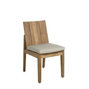 Ashland Teak Patio Dining Chair with Cushion