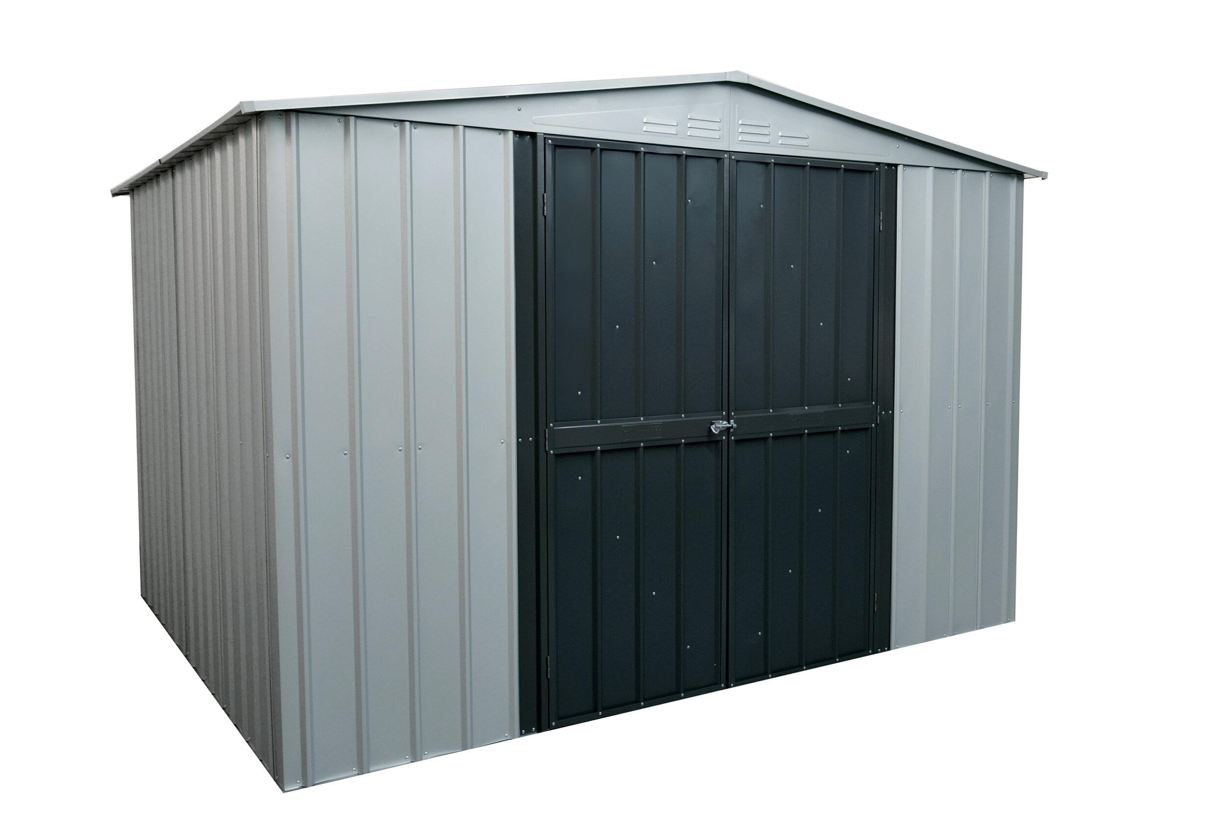 D Galvanized Steel Storage Shed | Wayfair