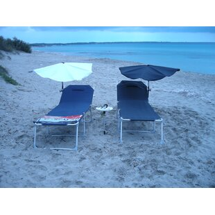 Check Price Justine Reclining Sun Lounger