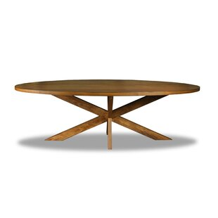 Ivy Bronx Macedo Solid Wood Dining Table