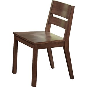 Losey Solid Wood Dining Chair (Set Of 2)