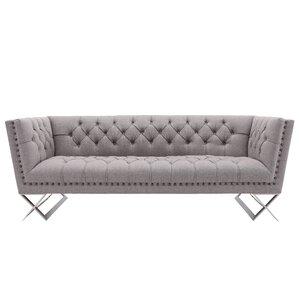 Borchert Contemporary Chesterfield Sofa by Willa Arlo Interiors