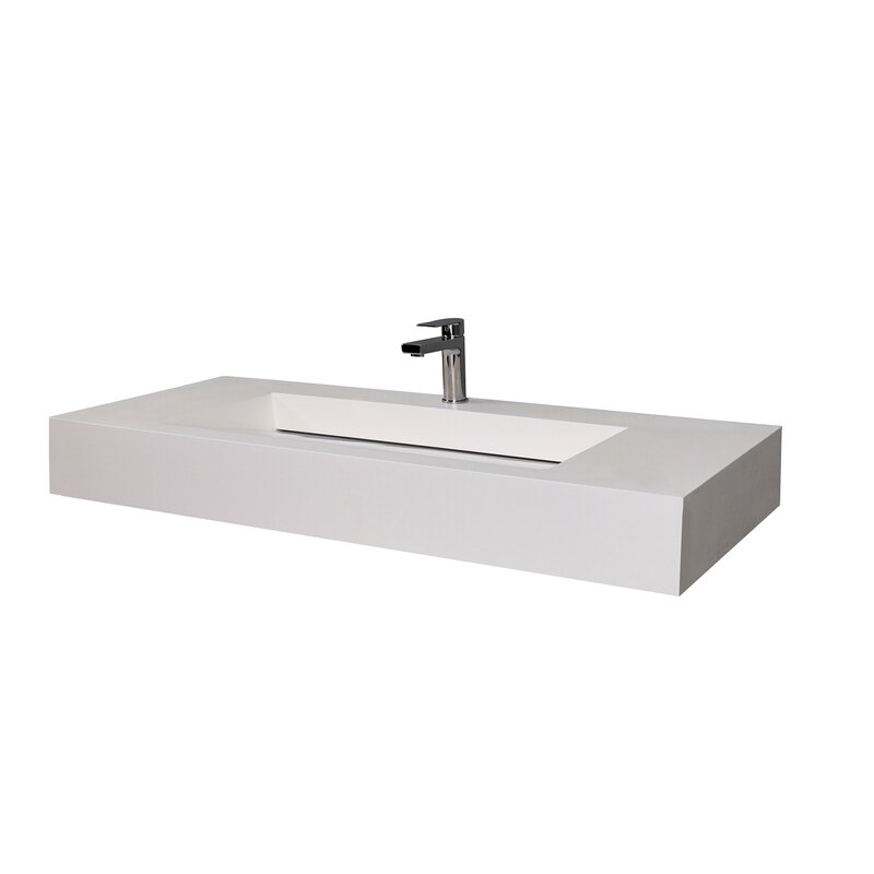 Castellousa Audrey 48 Single Bathroom Vanity Top With Sink Reviews Wayfair
