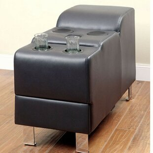 Dowlin Speaker Storage Ottoman by Latitude Run