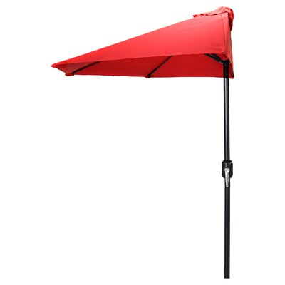 Sheehan 8.5 Half Market Umbrella by Beachcrest Home Comparison