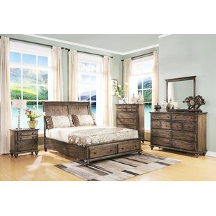 Van Buren Platform Configurable Bedroom Set