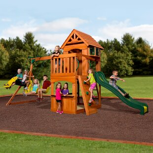 Backyard Discovery Atlantis Swing Set