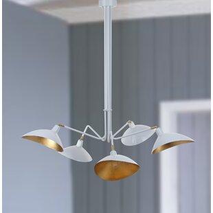 Brayden Studio Manzano 5-Light Sputnik Chandelier