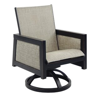 Leona Gold Coast Sling Swivel Rocking Chair