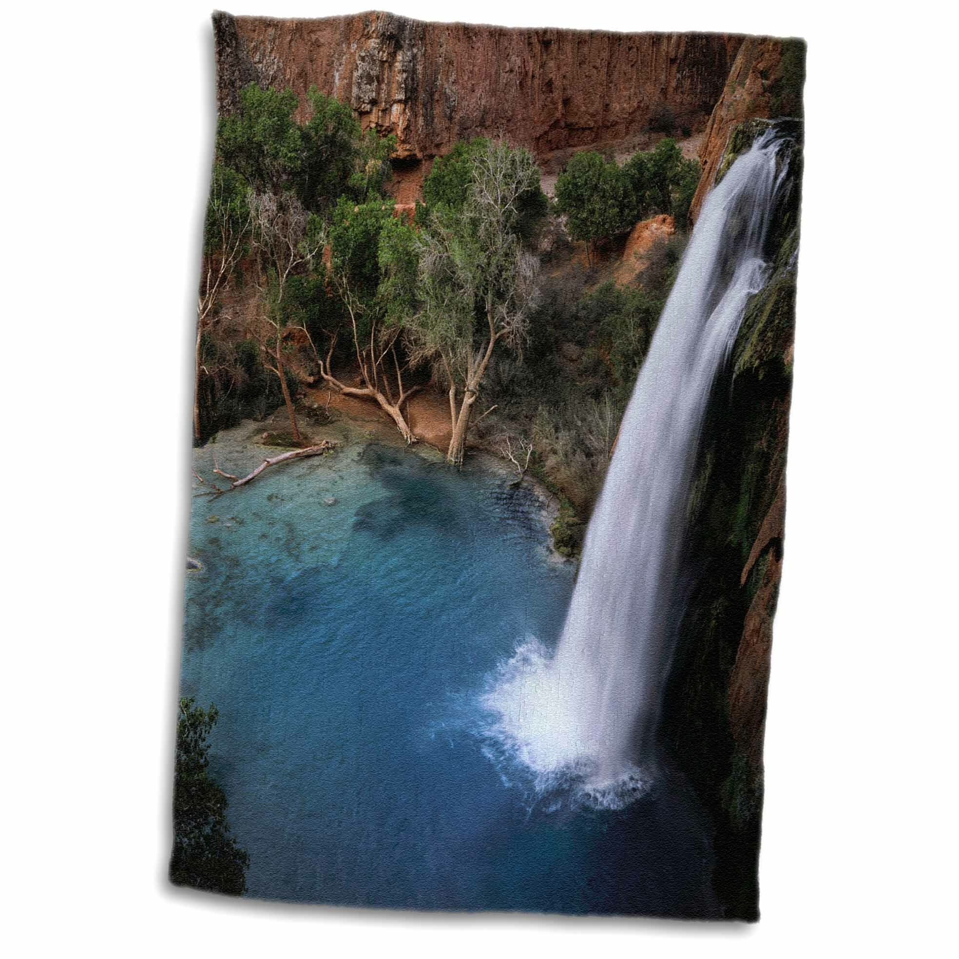 East Urban Home Doherty Arizona Grand Canyon Havasu Falls In Havasupai Indian Tribal Lands Tea Towel Wayfair