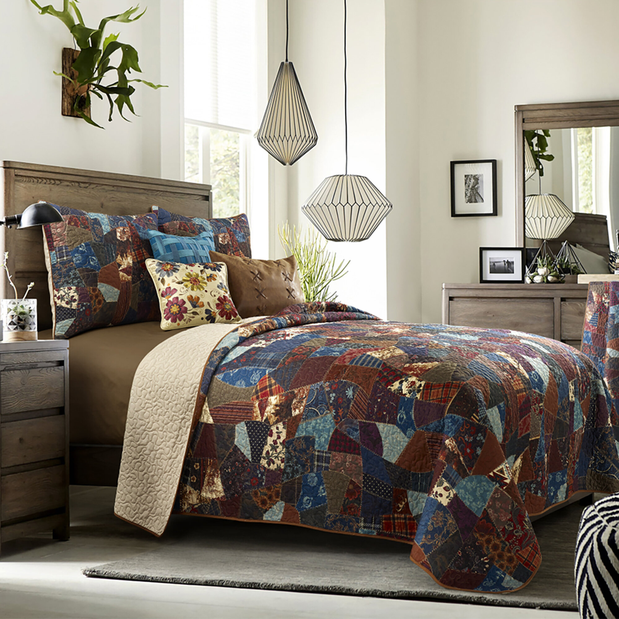 Millwood Pines Janell Dizzy Quilt Set Reviews Wayfair