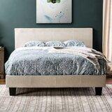 Clermt Tufted Upholstered Platform Bed by Ebern Designs