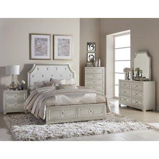 Eldridge Queen Standard 2  Piece  Bedroom Set by House of Hampton