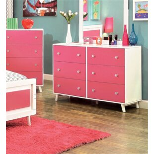 Affordable Price Dealba 6 Drawer Double Dresser by Mack & Milo Reviews (2019) & Buyer's Guide