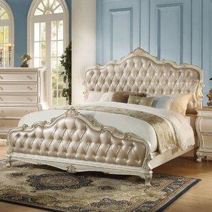 Casanovia Upholstered Panel Bed