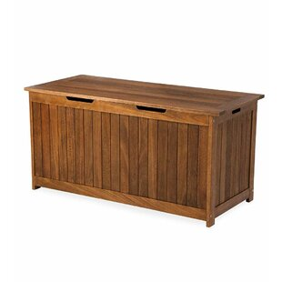 Plow & Hearth Lancaster Eucalyptus Deck Box