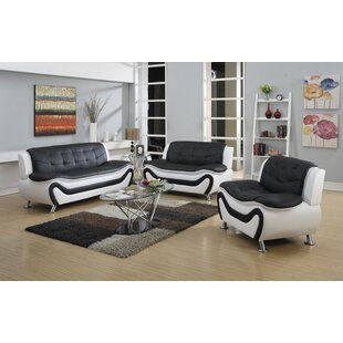 Best Reviews Herron 3 Piece Living Room Set by Orren Ellis Reviews (2019) & Buyer's Guide