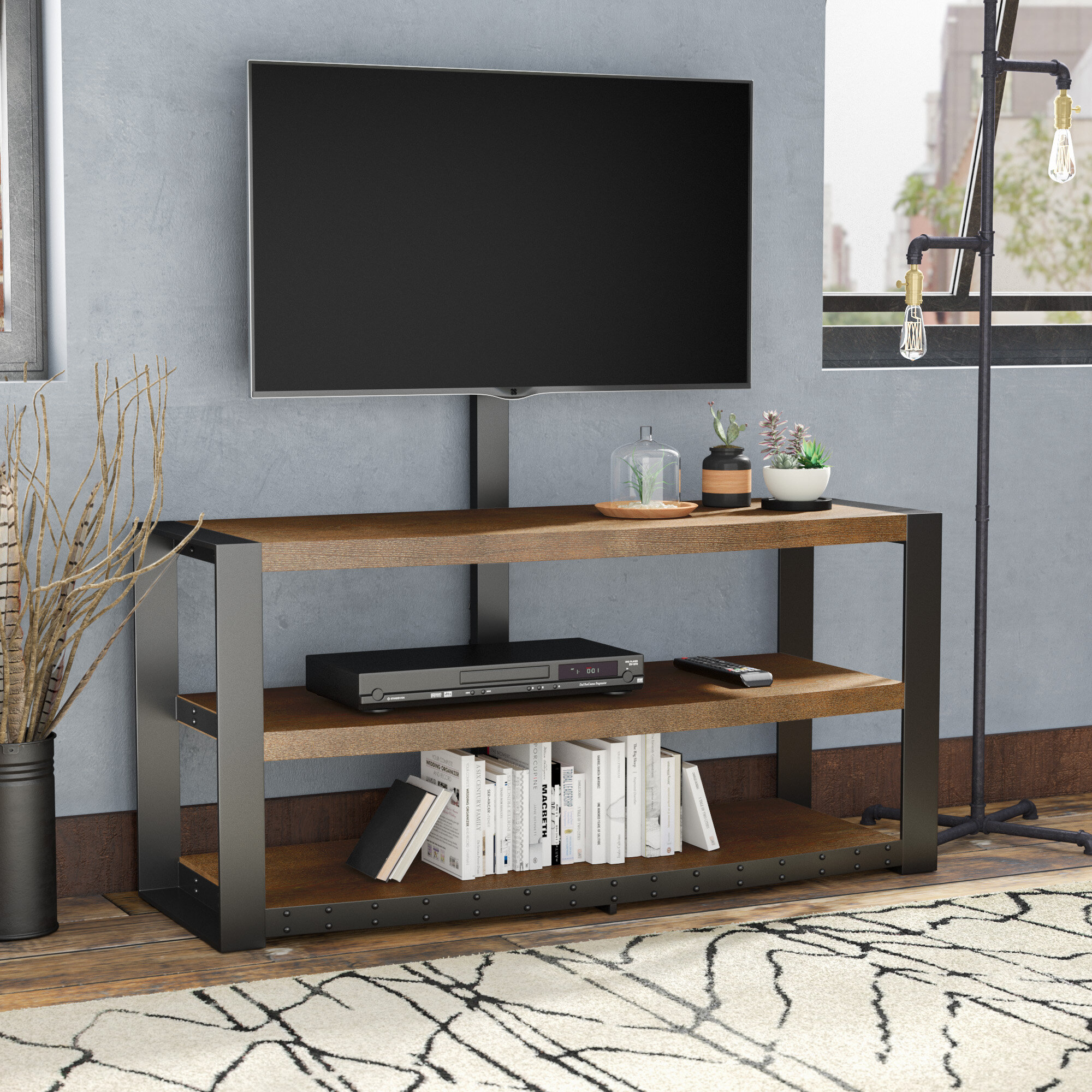 Trent Austin Design Behr Tv Stand For Tvs Up To 65 Reviews Wayfair