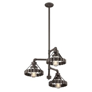 17 Stories Sawatt 3-Light Sputnik Chandelier